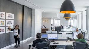 creative agency office. Magnetic Walls Allow Employees To Hang Up Their Work \u2014 An Essential Feature  For A Creative Agency Office