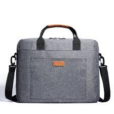kalidi 17 inch laptop messenger bag laptop shoulder bag briefcase handle carrying case for alienware macbook thinkpad acer asus dell lenovo sony on on