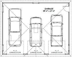 Garage  3 Car Garage Design Ideas 3 Car Garage Addition 4 Car 4 Car Garage Size