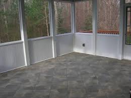 cool sun porch flooring ideas