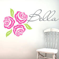 rose wall decal rose gold wall stickers uk rose gold vinyl wall decal rose wall