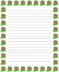 Christmas Note Template Christmas Note Paper Template 297030710758 Free Paper Templates