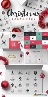 Christmas Logos Pack 947311 Free Download Vector Stock