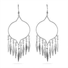 prissy inspiration sterling silver chandelier earrings western style eve s addiction earring findings