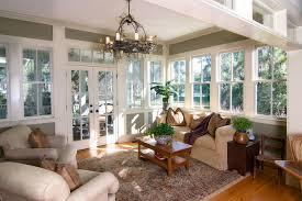 Furnished Sun room Sunroom Decorating Ideas