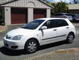 toyota corolla 2005 white. Wonderful Toyota 2005 Toyota Corolla ZZE122R Ascent White 5 Speed Manual Hatchback  Cars  Vans U0026 Utes Gumtree Australia Logan Area  Waterford 1190668879 And T