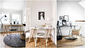 Home office white Minimal 20 Irresistible Scandinavian Home Offices That Will Boost Your Productivity Homesthetics 20 Irresistible Scandinavian Home Offices That Will Boost Your