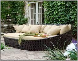 image of nice wicker patio furniture cushion