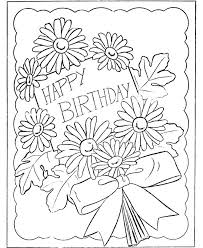 Small Picture 58 best Happy Birthday coloring Pages images on Pinterest Happy