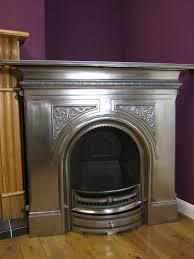 gallery pembroke 48 polished cast iron fireplace c w gas fire granite
