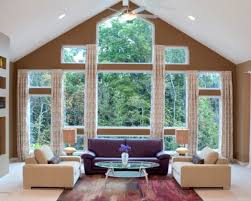 Window Treatment For Large Living Room Window Large Window Curtains Ideas Zampco