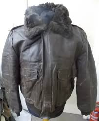 excelled men s sherpa liner type a 2 er leather jacket with fur collar made in usa u 24 2 3 kg