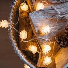 Philips Led Christmas Lights Battery Powered Us 8 64 20 Pinecone Dry Battery Operated Lights String On 3 3m Long Fairy Lights For Holiday Lighting Christmas Decoration Garlands In Holiday
