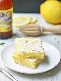 summer shandy lemon bars dessert made