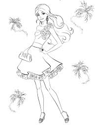 Free Barbie Colouring Pages 4 Coloring Pinterest Barbie