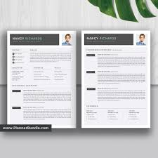 Best Resume Template Word Editable Cv Template Design 2019 2020 College Students Interns Fresh Graduates Professionals And Stay At Home Moms