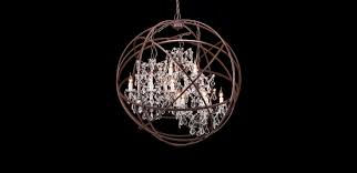 stainless steel base 1 light amusing kitchen trendy sphere crystal chandelier 32 timothy oulton orb antique rust 110 cm ts 2 amusing