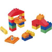 Miniland-Educational Gummi Blocks - 19pcs Girl Building Toys for 2 Year Olds | Learning ebeanstalk