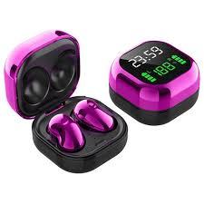 <b>S6 Plus</b> Bluetooth 5.1 <b>TWS</b> Earphones Purple