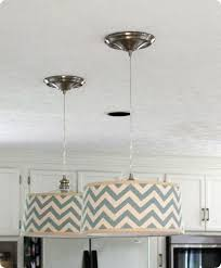 pendant lighting drum shade. diy drum shade pendants w tutorial would be good over the kitchen breakfast bar pendant lighting