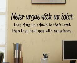 wall decal sticker e vinyl art removable arguing with an funny i72