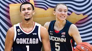 Gonzaga's Jalen Suggs, UConn's Paige ...