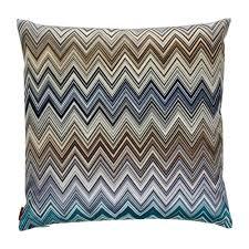 buy missoni home oleg patchwork cushion    amara