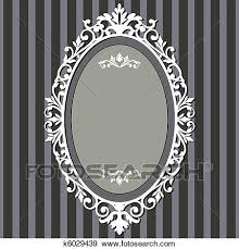 Vintage frame design oval Clip Art Clip Art Oval Vintage Frame Fotosearch Search Clipart Illustration Posters Drawings Fotosearch Clip Art Of Oval Vintage Frame K6029439 Search Clipart