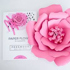 Paper Flower Kit Paper Rose Craft