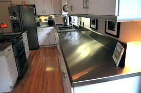 metal stainless steel counter tops for countertops cost ikea stainle