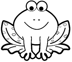 Small Picture coloring pages for kids printable frog page Coloring Point