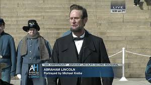 Abraham lincoln's first inaugural address was delivered on monday, march 4, 1861, as part of his taking of the oath of office for his first term as the sixteenth president of the united states. President Lincoln S Second Inaugural Address 150th Anniversary C Span Org