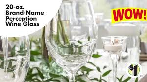 nice wine glasses brand. Unique Nice BrandName Perception White Wine Glasses 20 Oz Inside Nice Glasses Brand A