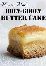 Gooey Butter Cake Recipe Variations