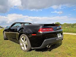 chevy camaro 2015 convertible. Delighful 2015 2015 Chevrolet Camaro Convertible Rear Angle Roadside 1 With Chevy O