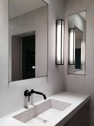 chrome bathroom sconces. Contemporary Sconces Bathroom Long Wall With Mounted Chrome