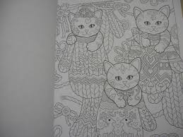即洋書大人の塗り絵豪華版おしゃれな猫たち145円