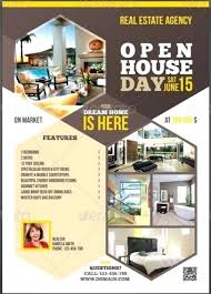 Agent Open House Ideas Real Estate Flyer Template Realtor Invitation ...