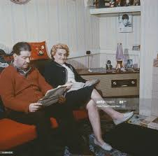Elsie Starkey and Harry Graves, mother and step-father of Ringo Starr...  News Photo - Getty Images