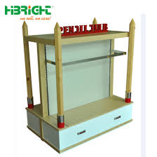 T Shirt Stand Display China Four Sided MDF TShirt Display Stand China Supermarket 93