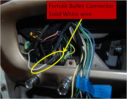 1966 mystery solod white wire vintage mustang forums the wire comes out of the main part of the harness on the left side toward the fuse box here is a pic of where it is the loom installed in the dash