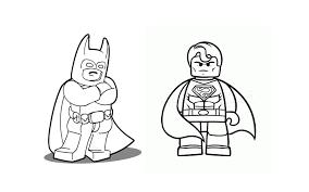 Superman Batman Lego Coloriage La Grande Aventure Lego