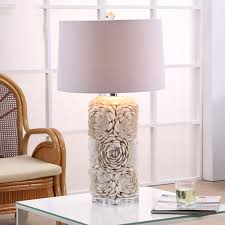 Lamp shades table lamps modern Bedside Modern Fixture Lamp Shell Table Lamps For Living Room Bedroom Lamp Shades Bedside Design Desk Light E27 Decorative Night Light Takhfifbancom Modern Fixture Lamp Shell Table Lamps For Living Room Bedroom Lamp