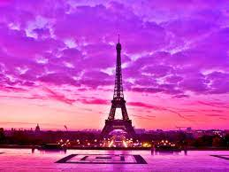 Pink Paris Eiffel Tower Wallpaper on ...