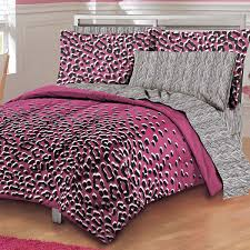 kitten mini pink animal snow leopard and zebra print bedding