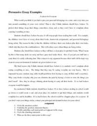 8th Grade Essay Examples Persuasive Essay Examples Handouts Reference For 5th 8th