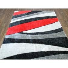gray rug 5x7 red and gray modern area rug gray faux fur rug 5x7