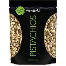 Wonderful Pistachios Roasted Lightly Salted 16 Oz Amazon Com Wonderful Pistachios Roasted And Salted 48 Oz