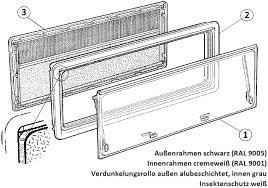 Seitz Außenrahmen Seitz S3s4 Fenster 1000x600mm Von Dometic