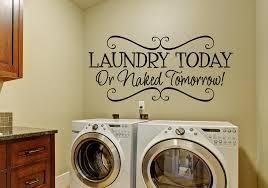 wall decor stickers laundry room